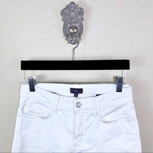 NYDJ Jeans - NYDJ White Crop Jeans